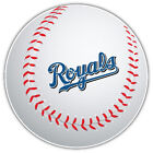 Kansas City Royals MLB Slogan Logo Ball Car Bumper Sticker - 9'', 12'' or 14'' on Ebay