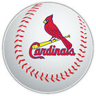 St. Louis Cardinals MLB Logo Ball Car Bumper Sticker Decal  - 9'', 12'' or 14'' on Ebay
