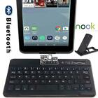 "For 7"" 9"" Barnes & Noble NOOK Tablet Wireless Bluetooth Keyboard + Stand Holder"