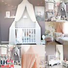US Princess Baby Mosquito Net Bed Kids Canopy Bedcover Curtain Bedding Dome Tent image