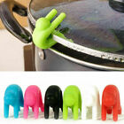 Lid Prevents Soup Pot Overflow Silicone Eco-friendly Tools Kitchen Clip Holder