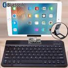 "For 10"" 12"" 13"" Microsoft Surface Tablet Wireless Bluetooth Keyboard + Stand"