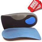 3/4 Orthotic Arch Support Insoles For Plantar Fasciitis Fallen Arches Flat Feet <br/> Used by NHS Patients✔Pronation✔Stability & Flexibility✔