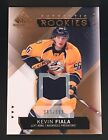 2015-16 Copper Authentic Rookies KEVIN FIALA Jersey /399 SP Game Used RC #198