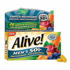 Natures Way Alive! Mens 50+ Multivitamin & Mineral - 50 Tablets
