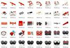 Внешний вид - Aluminum metal Upgrade DIY parts For WPL C14 C24 Off-road 1:16 Crawler Car Red