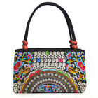 Full Embroidered Women Handbag Canvas Casual Tote Thailand Ladies Top-handle