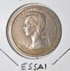 1948  One Franc Essais Coin - French Madegascar -Pattern- BU