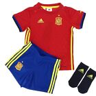 Adidas Infants Spain Home Baby Goal Keeper Football Kit Sports Jersey