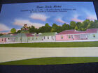 VINTAGE LINEN POSTCARD DEER DALE MOTEL RT. U. S. 40 BALTIMORE MD.