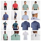 Nike TW Tiger Woods Golf Polo Dri-Fit Striped or Blade Collar Mens Shirt Pick 1