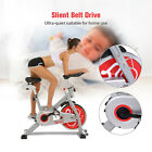 Exercise Stationary Bike Bicycle Cycling Fitness Cardio Workout W/ 49LB Flywheel