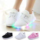 Kyпить LED Baby Boys Girls Shoes Kids Light Up Luminous Trainers Sport Sneakers Size на еВаy.соm