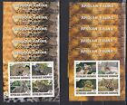 2*5x(10pcs) Animals African Caracal Leopard imperf [K8] Private issue/not MNH