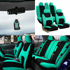Universal Seat Covers For Car SUV Van w Air Freshener Full Set 11 Colors