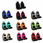 Universal Seat Covers For Car SUV Van w/ Air Freshener Full Set 11 Colors $20.56 USD on eBay