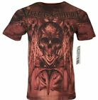 XTREME COUTURE by AFFLICTION Men T-Shirt POWER SLAVE Cross Tattoo Biker UFC $40 image
