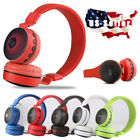 Wireless Bluetooth Kids Over-Ear LED Headphones Noise Cancelling Earphones USA