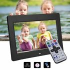"""7"""" Inch HD Digital Photo Frame with Alarm Clock Multimedia Playback MP4 Player"""