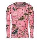 Blazing Pink Forest Camo Long Sleeve Tee XSMALL