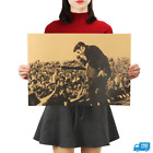 Rock Star Vintage Poster Classic Star Retro Posters Bar Home Wall Decorative