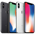 apple iphone x silver gray gsm unlocked 64gb or 256gb