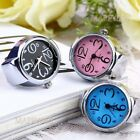 Dial Quartz Analog Watch Creative Steel Cool Elastic Quartz Finger Ring Watch image