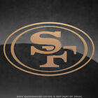 "San Francisco 49ers NFL Vinyl Decal Sticker - 4"" and Larger - 30+ Color Options! $6.49 USD on eBay"