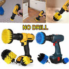 2'' Cleaning Drill Brush Wall Tile Grout Power Scrubber Tub Cleaner Combo US
