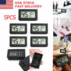 USA 5pcs Digital LCD Indoor Temperature Humidity Meter Thermometer Hygromete