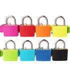 22mm Candy Colors Padlock School Backpack Diary Piggy Bank Small Lock Key Safe