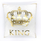 18* Golden Tone Pattern Printing Pillow Case Throw Cushion Cover Sofa Home Deco