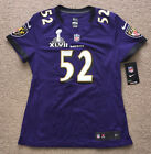 BALTIMORE RAVENS RAY LEWIS Jersey Nike Women's Shirt Super Bowl. Retail $120.00 $13.99 USD on eBay