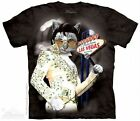 Meowvis Pawsley Cat Shirt, Mountain Brand, Elvis Presley as Kitty, In Stock