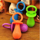 145A Pet Dog Puppy Chew Teeth Gums Healthy Toy Squeaky Soft Small Rubber Pacifie