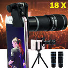 18X Zoom Monocular Mobile Phone Telescope Camera Lens Outdoor HD Telephoto Lens