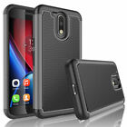 For Motorola Moto G 4th Generation/G4 Plus Case+Tempered Glass Screen Protector