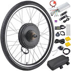 750W 1000W Electric Bicycle E Bike Conversion Kit Rear Front Wheel PAS LCD Meter