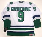 GORDIE HOWE HARTFORD WHALERS CCM TEAM CLASSIC WHITE JERSEY LARGE
