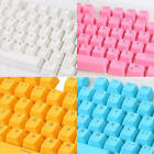Comfort Translucent White Keycaps Set Backlit for Cherry Keyboard Switch