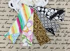 T. NEW Coach Multi-color Ponytail 100 Silk Bag Accessories Scarf Hairband Charm