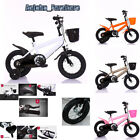 'Childrens Bicycle Kids Safe Childs Junior Bike Cycle Girls Boys 12 14 16 18