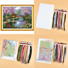Embroidery Cross Stitch Set New Scenery DIY Needlework Kits Counted Home Decor