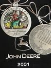 NEW John Deere Pewter Ornament ALL Years 1998 - 2019 You Choose ! Christmas NIB