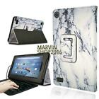 Leather Stand Cover Case + Micro USB Keyboard For Amazon Kindle Fire 7 2015/2017