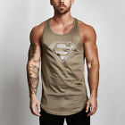 Men's High Quality Breathable Gym Tank Tops Muscle Singlets Bodybuilding Vests