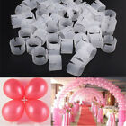 20 to 150x Balloon Arch Stand Connectors Clip Ring Buckle Wedding Birthday Decor