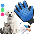 Pet Hair Glove Comb Pet Dog Cat Grooming Cleaning Glove DesheddingHair Removal