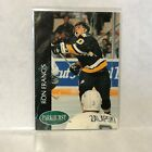 #141 Ron Francis Pittsburgh Pengiuns Parkhurst 1993 Hockey Card A2G