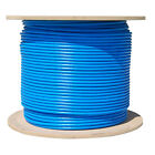 Cat6 Plenum 1000ft 550MHZ CMP Network Cable BLUE - WHITE - RED